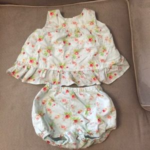 Two piece summer outfit! So cute!